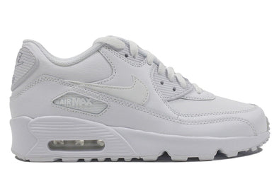 "NIKE AIR MAX 90 LTR GS ""White/White"""