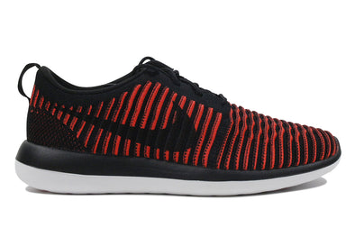 "Nike Roshe Two Flyknit ""Black Bright Crimson"""