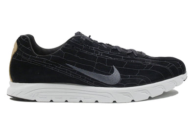 "Nike  Mayfly Leather Premium ""Black Dark Grey"""