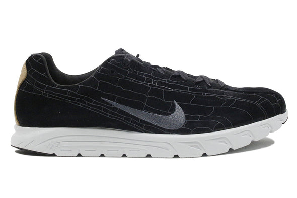 "NIKE MAYFLY LEATHER PREMIUM ""Black Grey"""