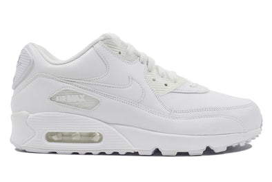 "Nike Air  Max 90 Leather ""White/White"""