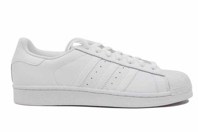 "Adidas Superstar Foundation ""White/White"""