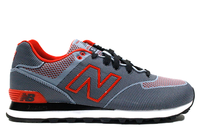 "NEW BALANCE 574 ""Dark Grey/Orange"""