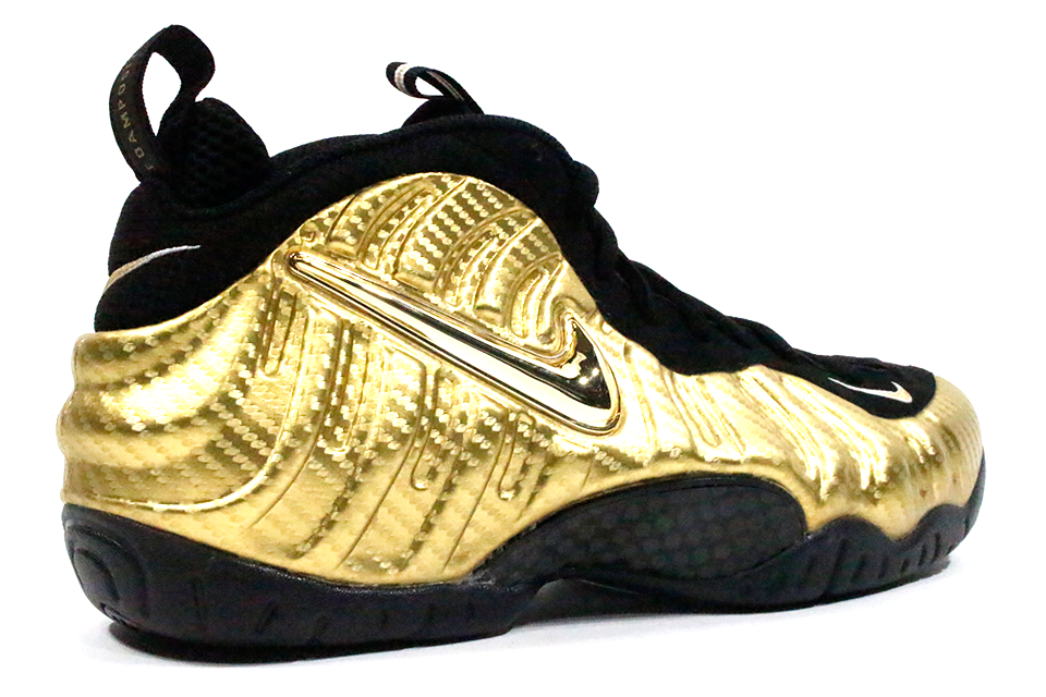 "f4dbe99a2b1 Nike Air Foamposite Pro ""Metallic Gold"" – GlobalNYkicks"