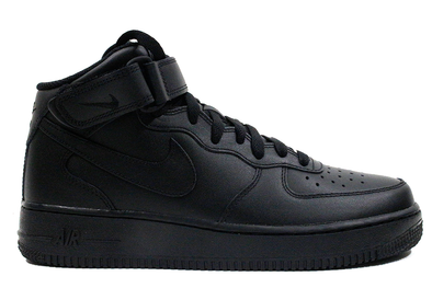 "Nike Air Force 1 Mid '07 ""Black/Black"""