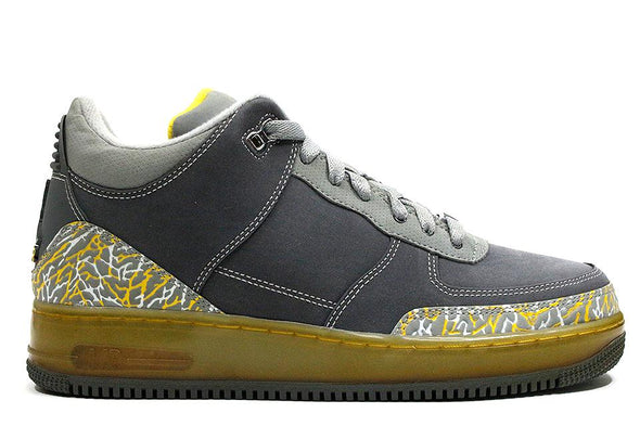 "Nike Air Force AJF3 ""Flint Grey/Varisty Maize"""