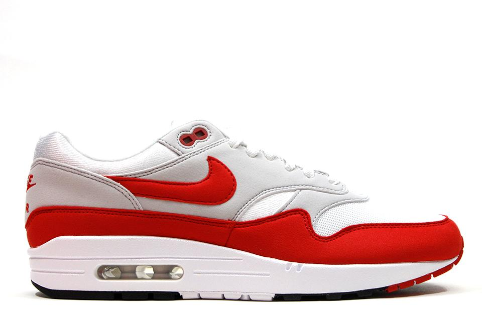 reputable site 41595 da724 ... inexpensive nike air max 1 anniversary white university red  globalnykicks 2d49a b6c2d