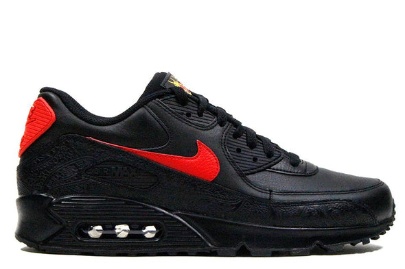 "Nike Air Max 90 F ""Black/University Red"""