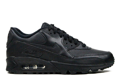 "Nike Air Max 90 Leather ""Black/Black"
