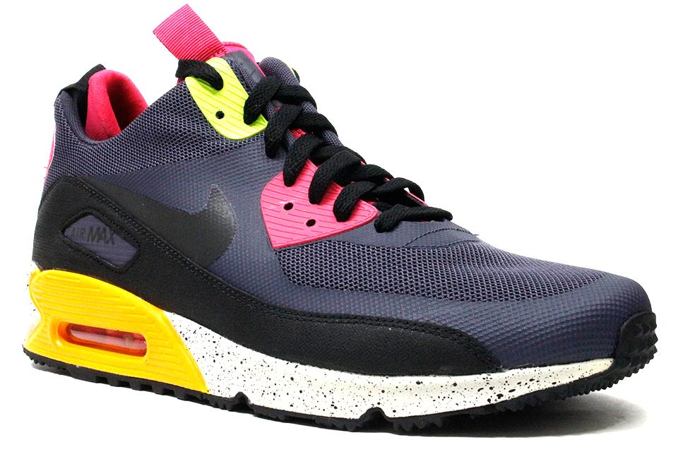 low priced b3c62 8740a ... best price nike air max 90 sneakerboot ns gridiron black pink cae00  6db19