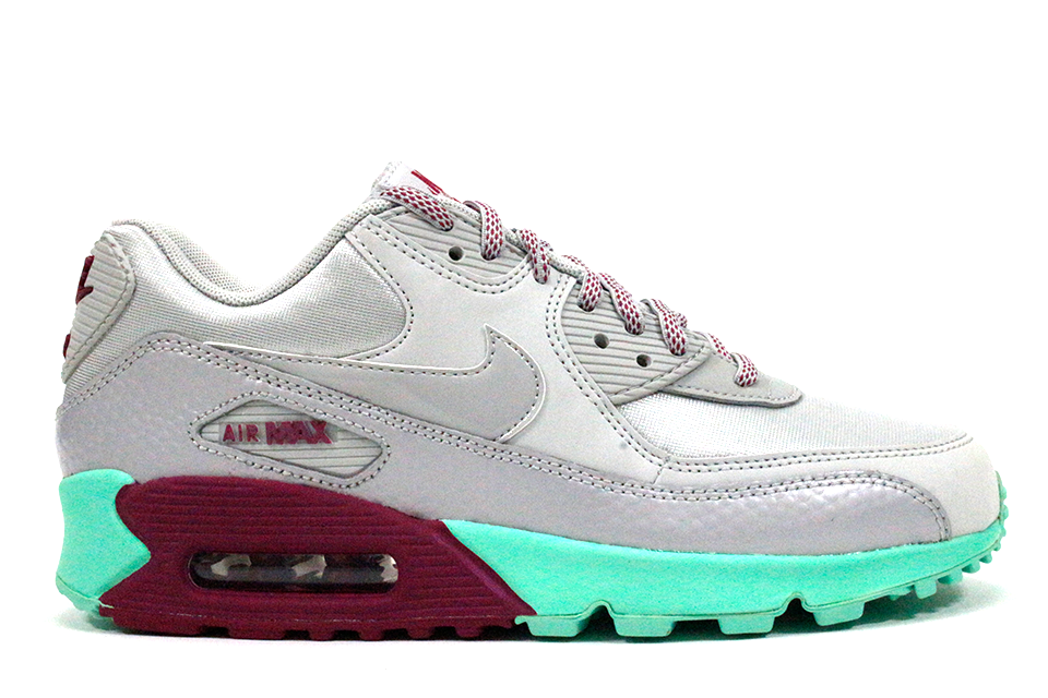 cheap for discount a5d8e f77f9 ... official nike air max 90 wmns grey green globalnykicks bdfbf 6f302