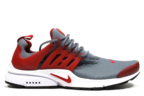"Nike Air Presto Essential ""Cool Grey/Gym Red"""