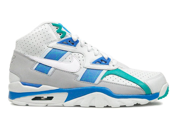 "Nike Air Trainer SC High ""Barely Grey/White-Blue Orbit"""