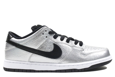 "Nike Dunk Low Premium SB ""Metallic Silver"""