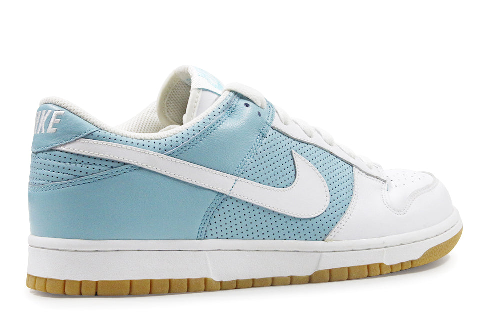 nike dunk low white aqua