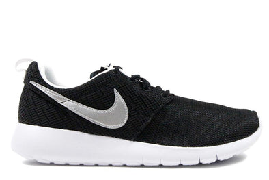 "NIKE ROSHE 1 (GS) ""Black/Metallic Silver"""