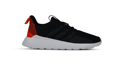"ADIDAS QUESTAR FLOW ""Core Black/Active Orange"""