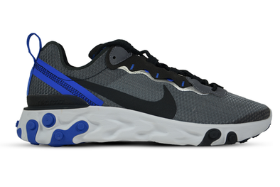 "NIKE REACT ELEMENT 55 SE "" BLACK RACER BLUE"""