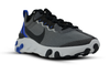 "NIKE REACT ELEMENT 55 SE ""Black/Racer Blue"""