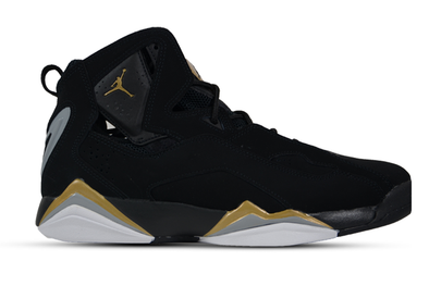 "JORDAN TRUE FLIGHT ""METALLIC GOLD"""