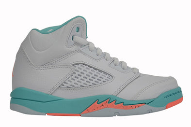 "Nike Air Jordan 5 Retro GP (PS) ""White Light Aqua"""