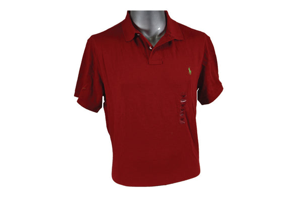 "POLO  RED CUSTOM FIT ""RED / YELLOW"""