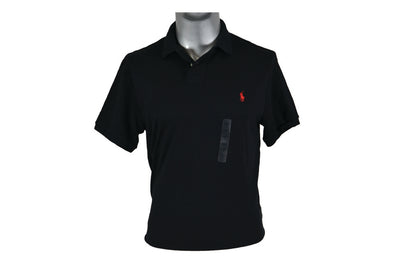 "POLO RL BLACK CUSTOM FIT ""BLACK"""