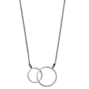 Necklace : Harper_PI : Silver Plated