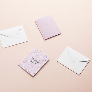 "Greeting card, ""Love"" with envelope"