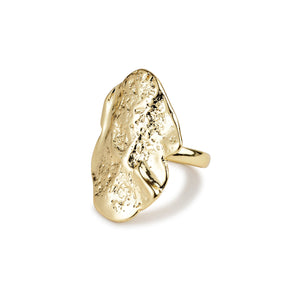 Ring : Valkyria : Gold Plated
