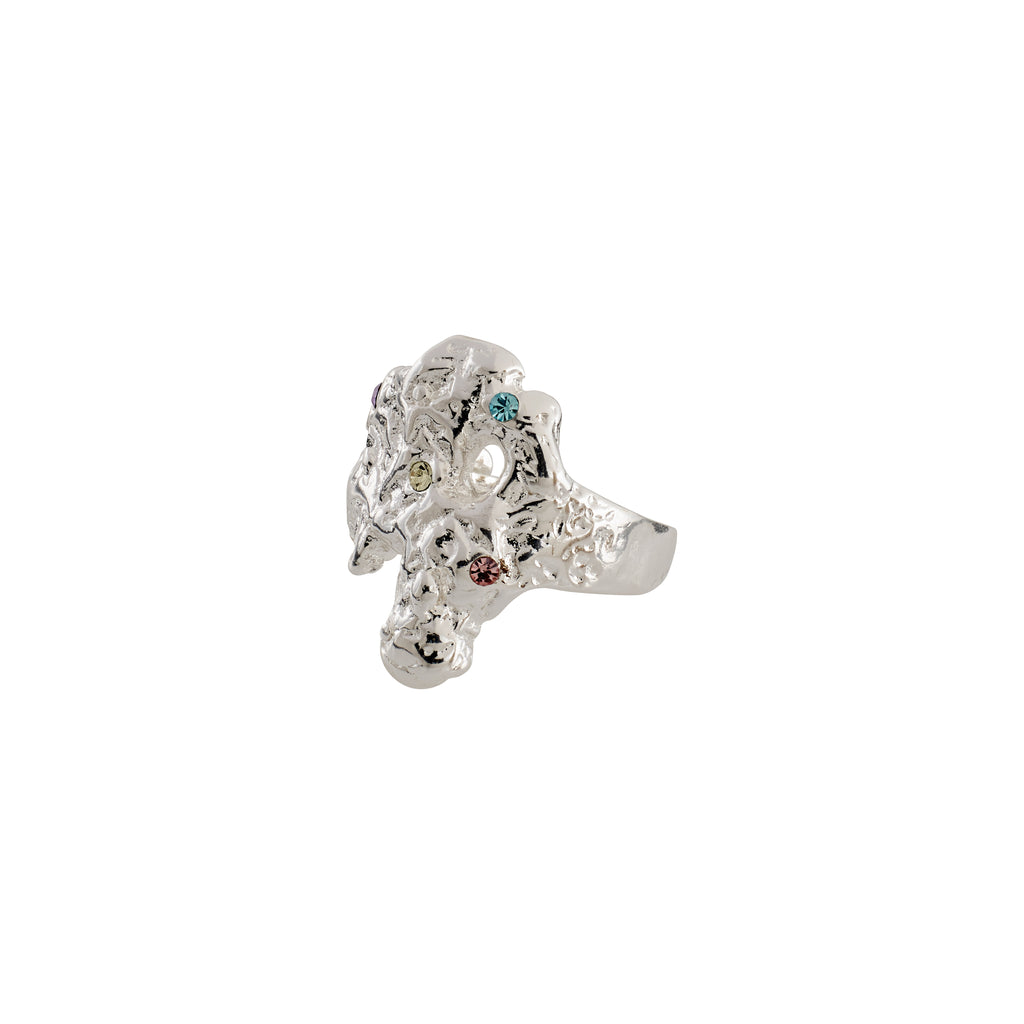 Ring : Feelings of L.A. : Silver Plated : Multi