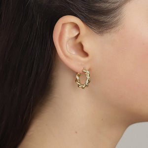 Earrings : Skuld : Gold Plated