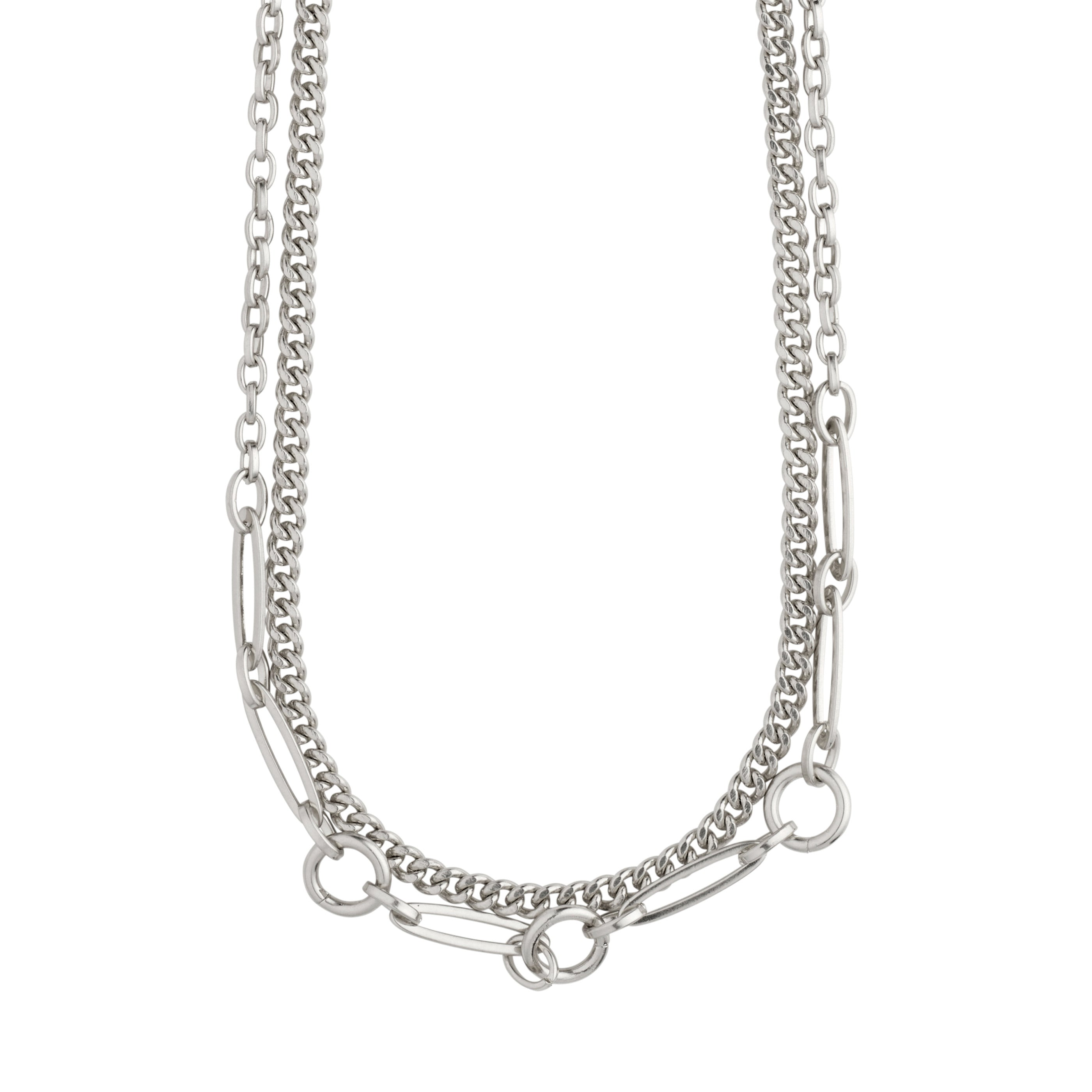 Necklace : Sensitivity : Silver Plated