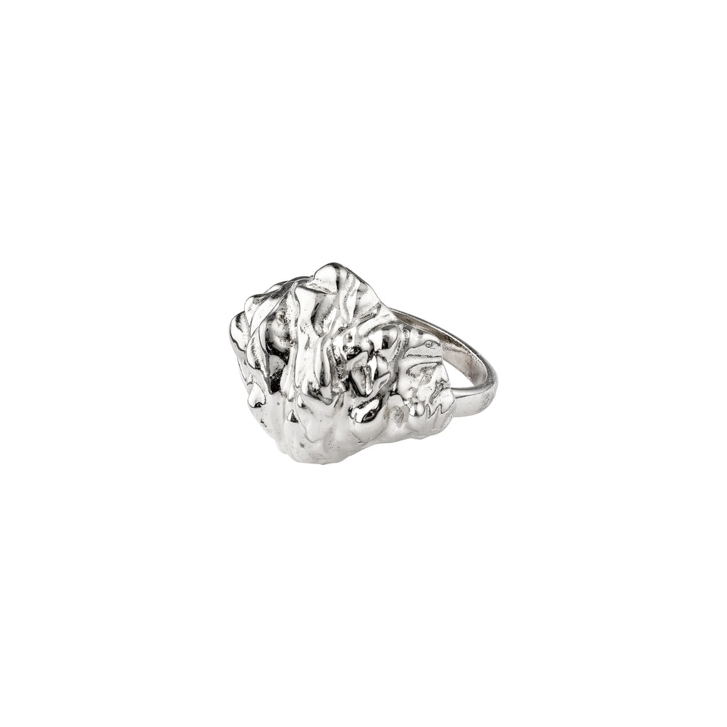 Ring : Tolerance : Silver Plated