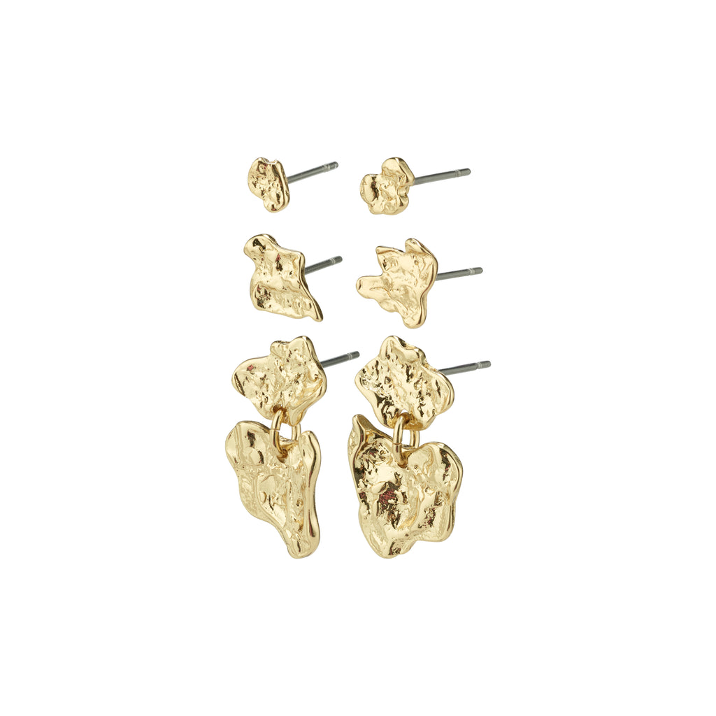 Earrings : Horizon : Gold Plated
