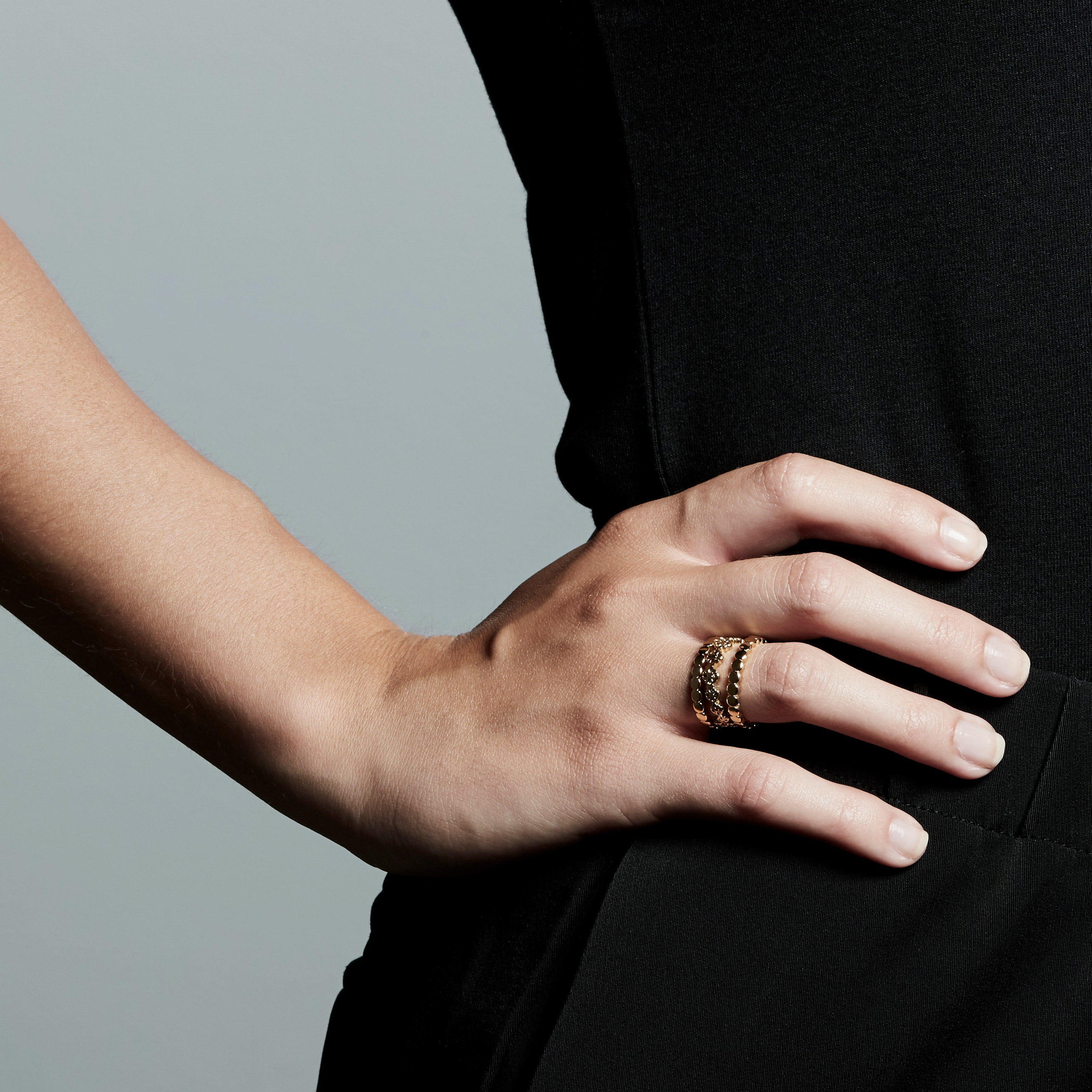 Ring : Cherished : Gold Plated