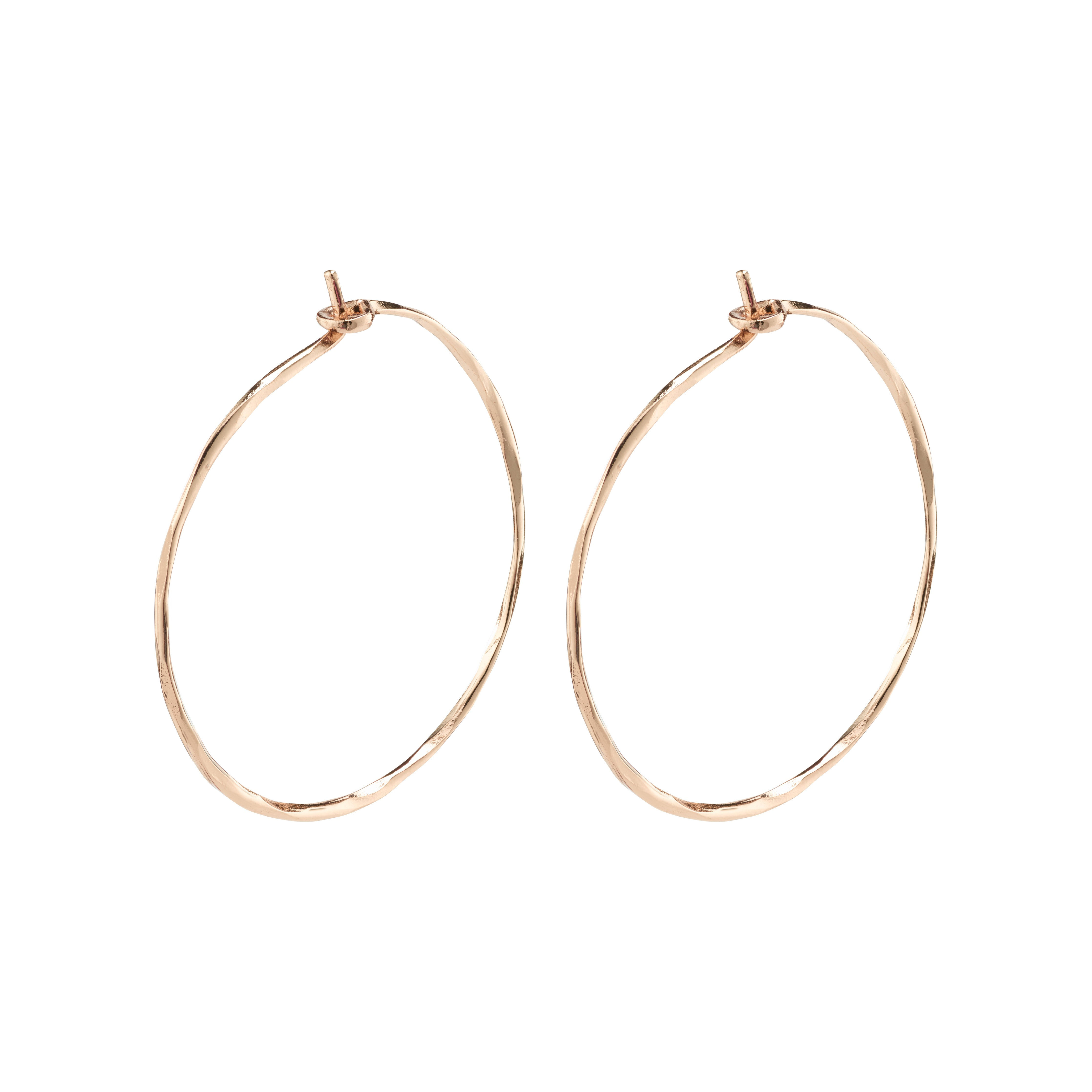 Earrings : Sincerity : Rose Gold Plated