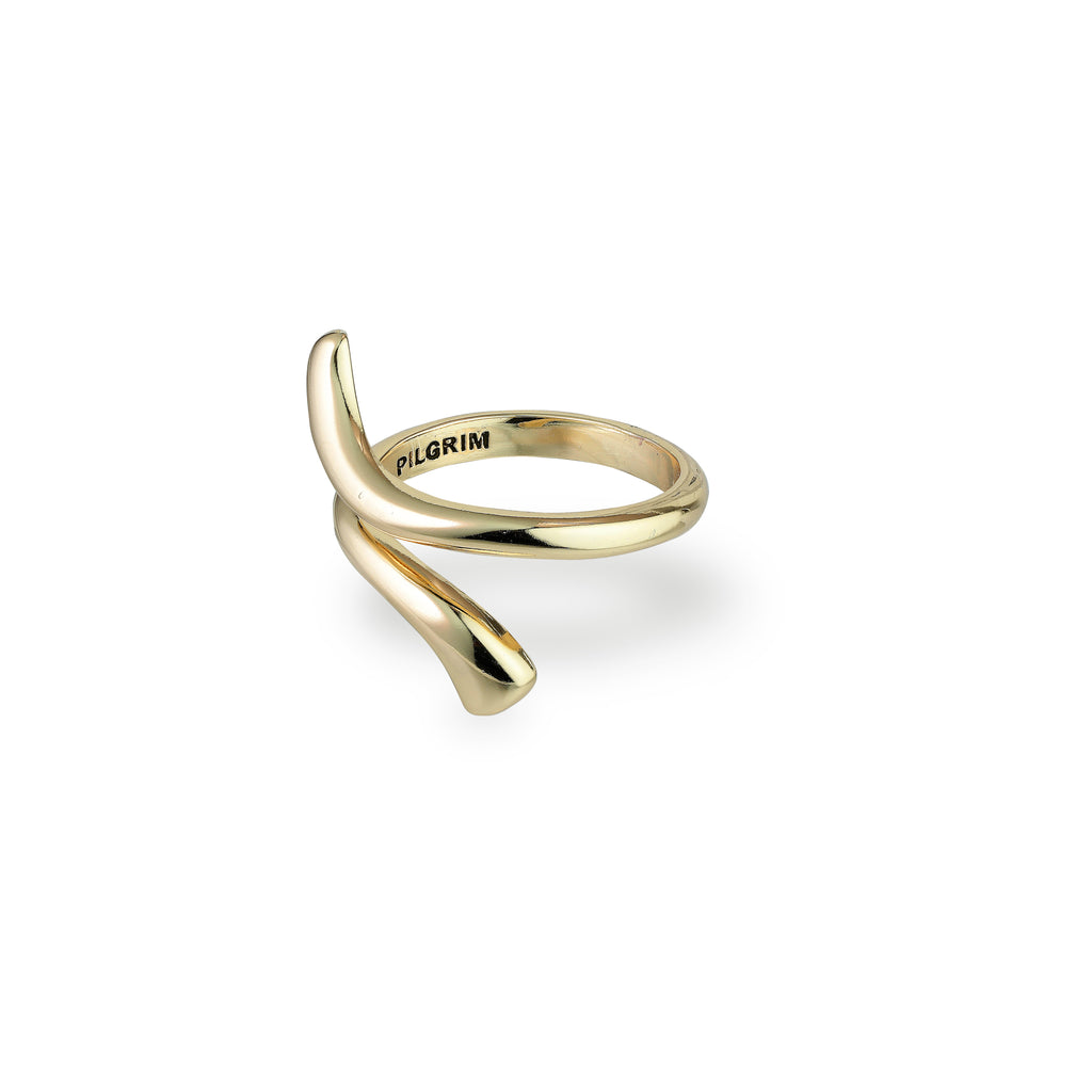 Ring : Jada : Gold Plated