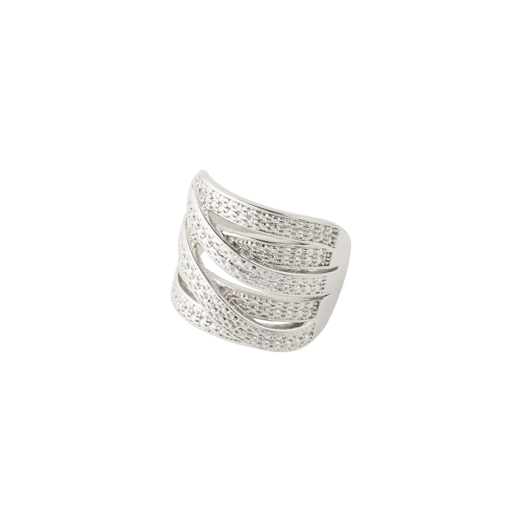 Ring : Stella : Silver Plated