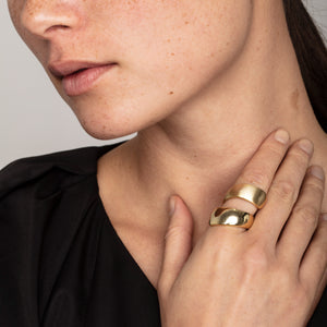 Ring : Alma : Gold Plated