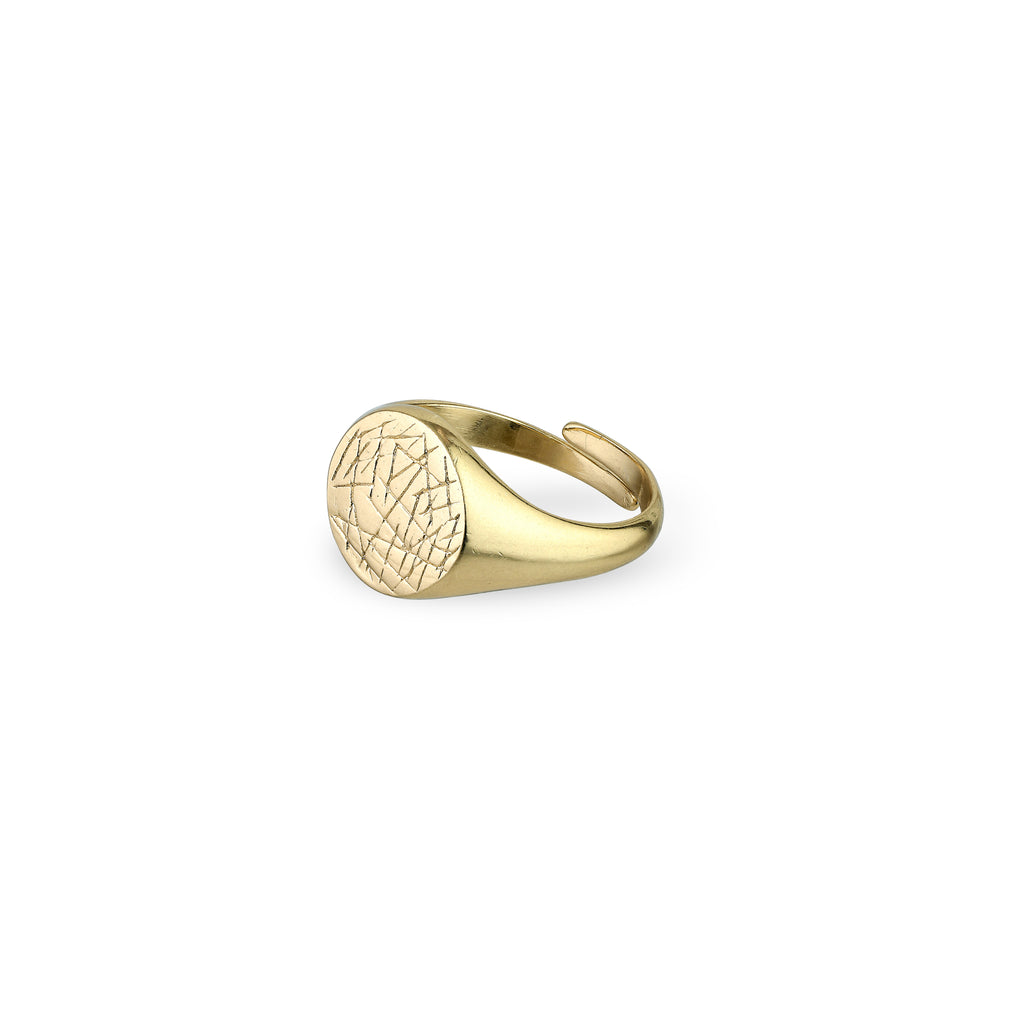 Ring : Vega : Gold Plated