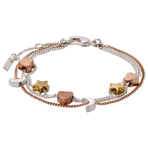 Bracelet : Anna_PI : Mix Metal Plated