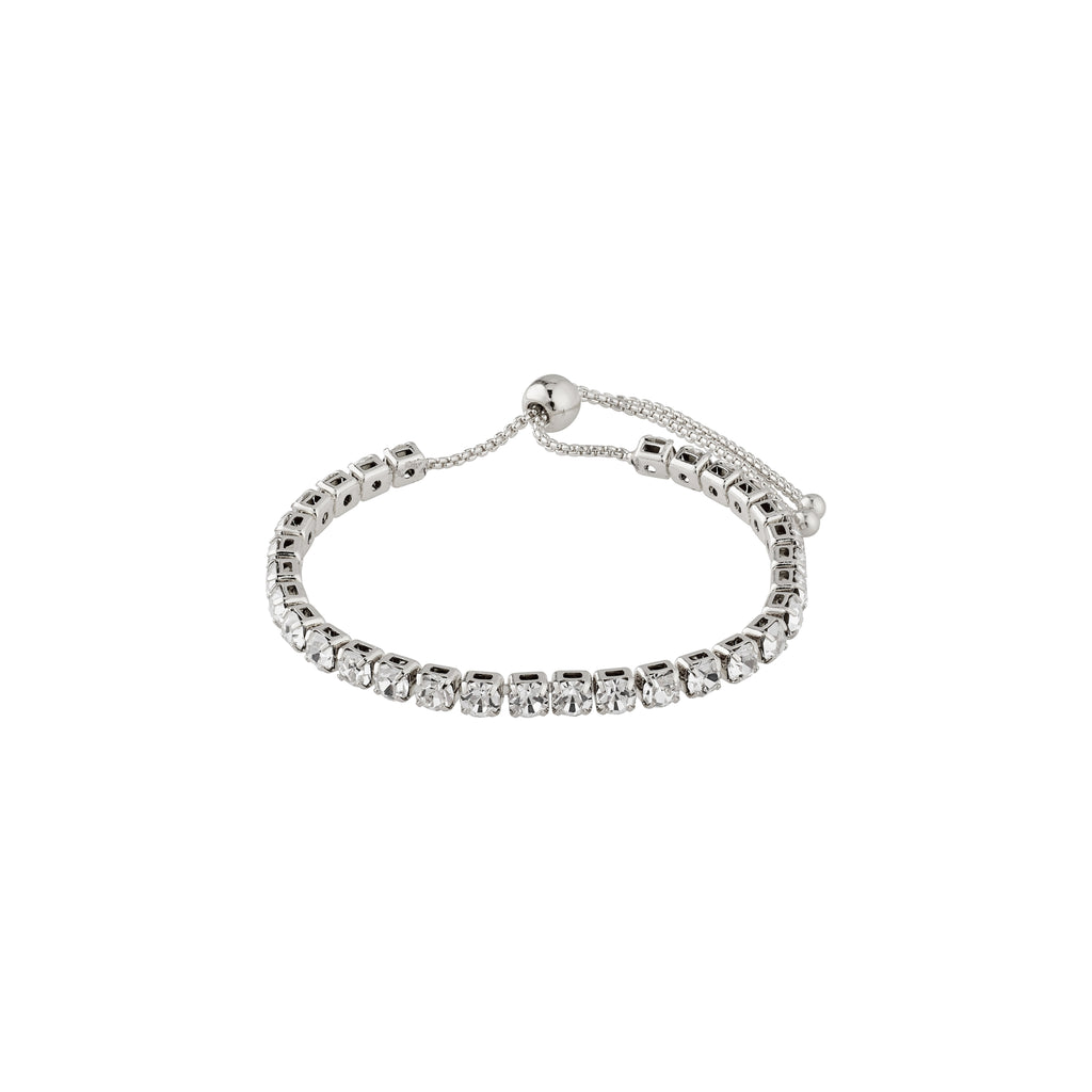 Bracelet : Lucia : Silver Plated : Crystal