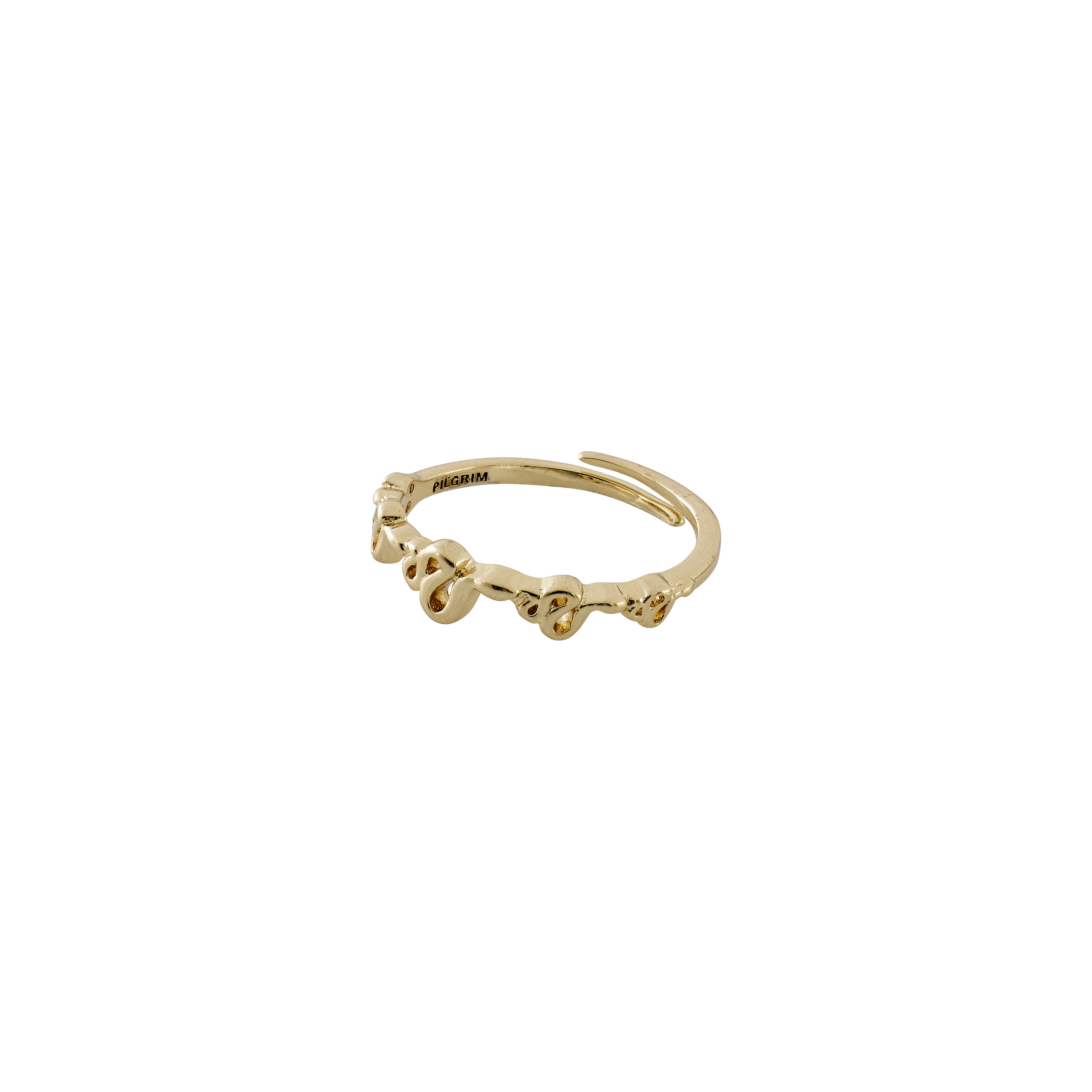 Ring : Blaze : Gold Plated