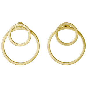 Earrings : Zooey : Gold Plated