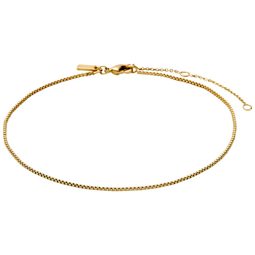 Ankle chain : Pallas : Gold Plated