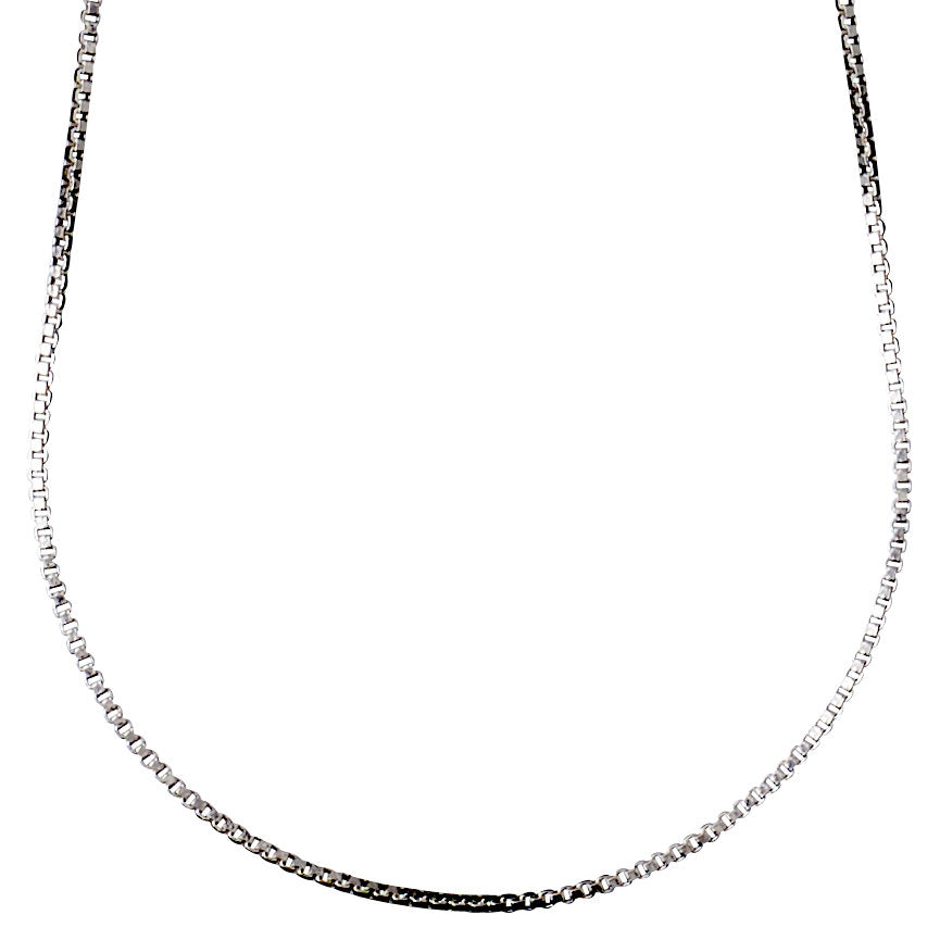 Necklace 45 cm : Nancy : Silver Plated