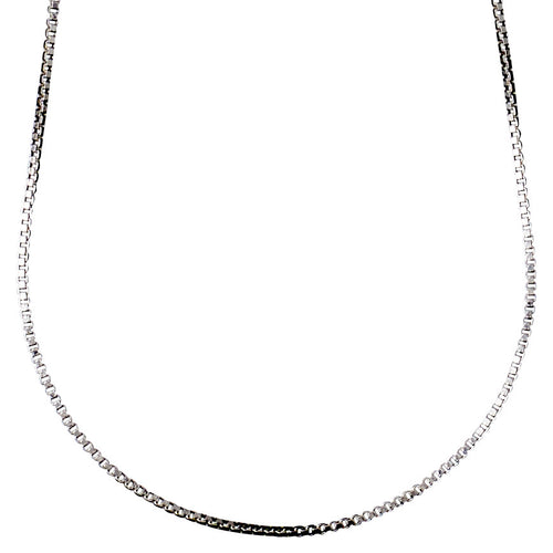 Necklace : Nancy : Silver Plated