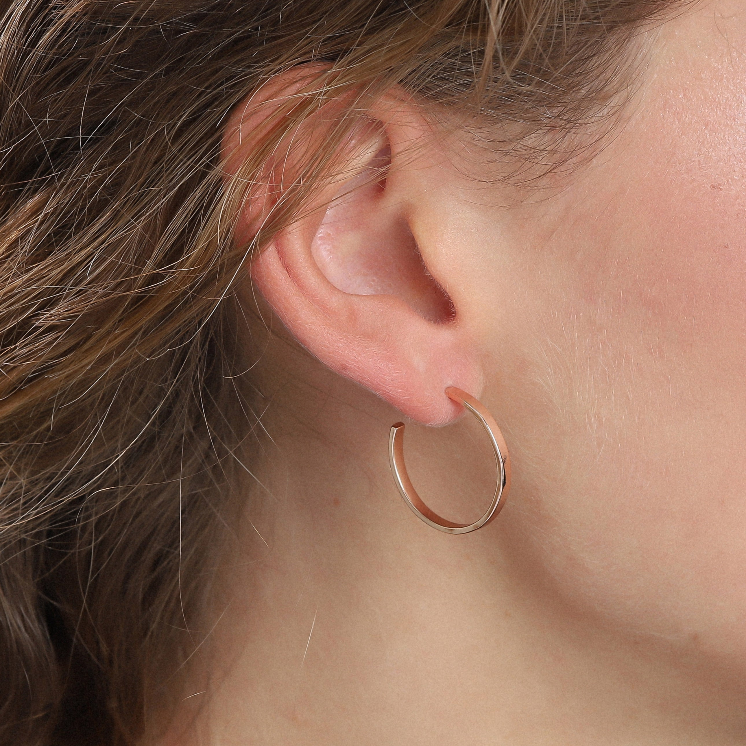 Earrings : Bella : Rose Gold Plated