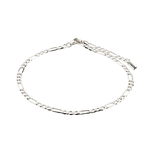 Ankle chain : Dale : Silver Plated